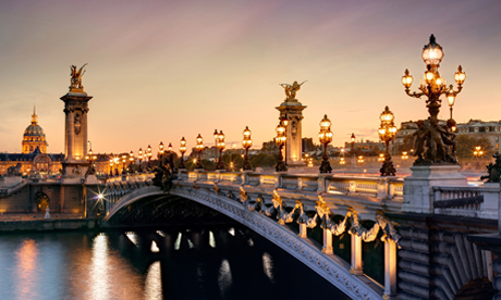We love Paris……..