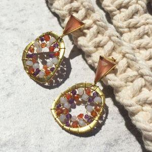 Savannah Gemstone Earrings