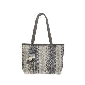Corinth Tote Bag Grey