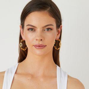 Atalanta Gold Earrings