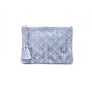 Astoria Velvet Pouch Grey