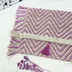 Mykonos Clutch Bag Pink