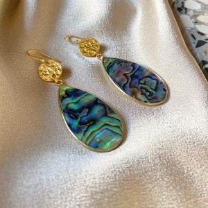 Mimosette Earrings Mother of Pearl