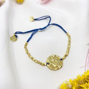 Paige Festival Bracelet Denim Blue