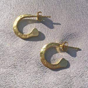 Ziggy Gold Mini Hoop Earrings