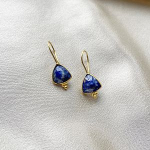 Lola Earrings Lapis Lazuli