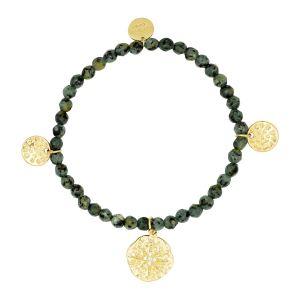 Roma Bracelet Dark Green