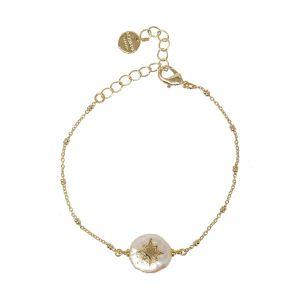 Star Drop Bracelet White Star