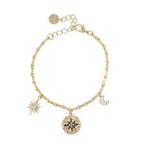 Black Star Bracelet gold