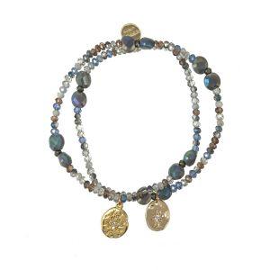 Precious Bracelet Set Blue