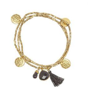 Gemini Bracelet Black Onyx
