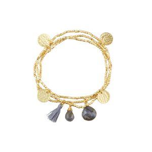 Ashiana Gemini Bracelet Labradorite