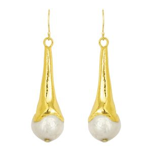 Madeline Earrings Pearl