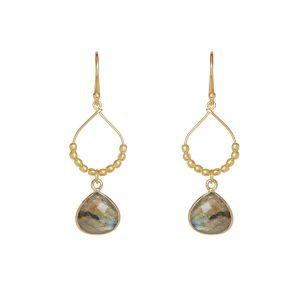 Bay Reef Earrings Labradorite