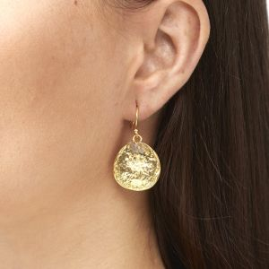 Solange Earrings Labradorite