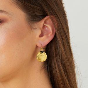 Solange Earrings Black Onyx