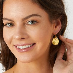 Solange Earrings Freshwater Pearl