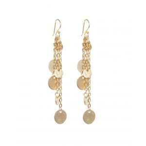 Alena Gold Coin Earrings