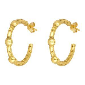 Mini Cruise Earrings Gold