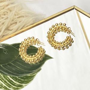 Noemi Gold Hoop Earrings