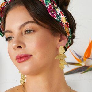 Dali Earrings Gold
