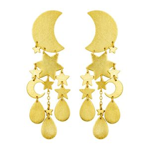 Yvonne Earrings Gold