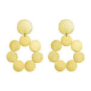 Suzette Earrings Gold