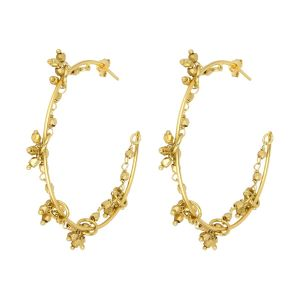 Odette Hoop Earrings Gold