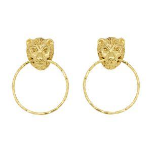 Leo Small Earrings Gold