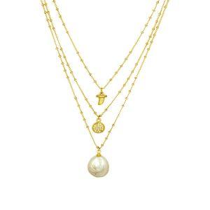 Colette Necklace Gold