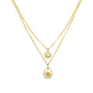 Francine Necklace Gold