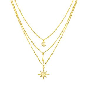 Midnight Necklace Gold