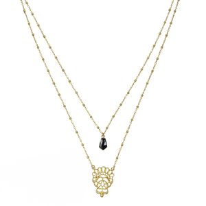 Mysore Necklace Black Onyx