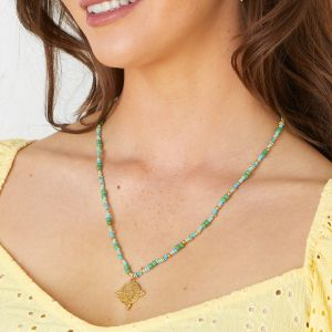 Galapagos Necklace Green - Turquoise