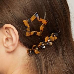 Saturn Hair Clip Set