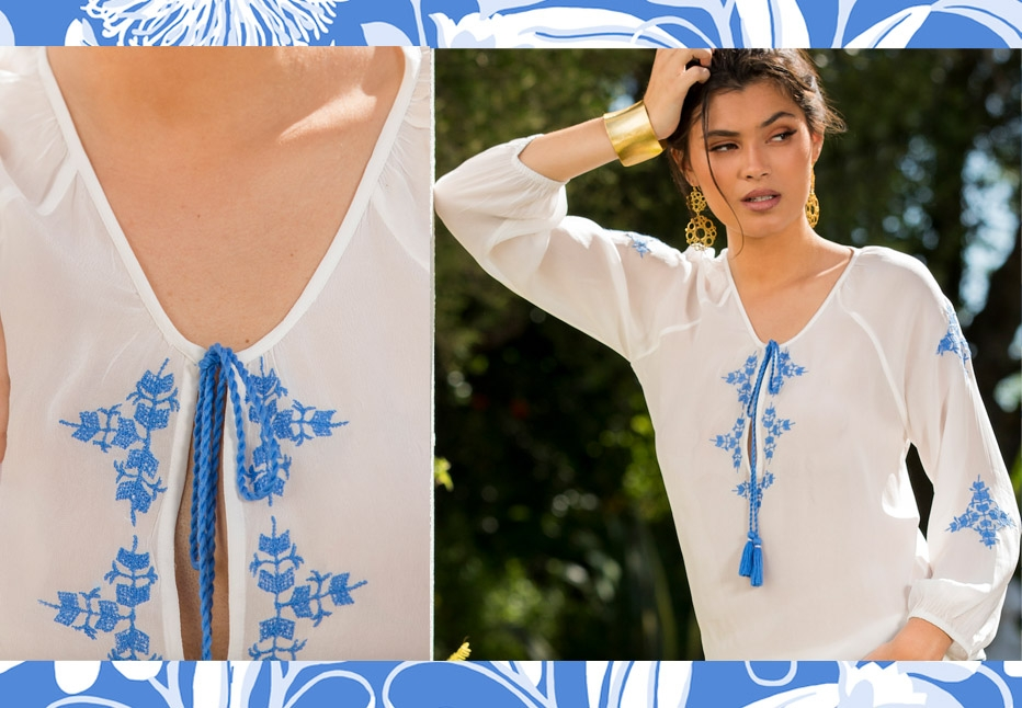 488ebd81870a The idea behind the Ella India line is a fresh take on resort wear. The  dresses are designed to be loose and floaty